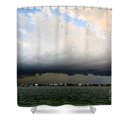 Into The Storm Shower Curtain by David Lee Thompson