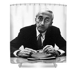 Jacques Cousteau (1910-1997) Shower Curtain by Granger