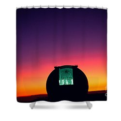 Keck Observatory Shower Curtain by Peter French - Printscapes
