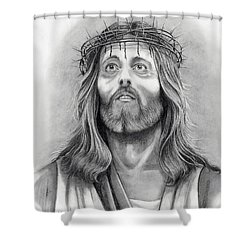 King Of Kings Shower Curtain by Murphy Elliott