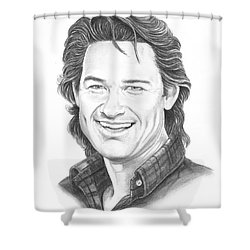Kurt Russell Shower Curtain by Murphy Elliott