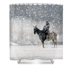Longest Winter Shower Curtain by Paul Sachtleben