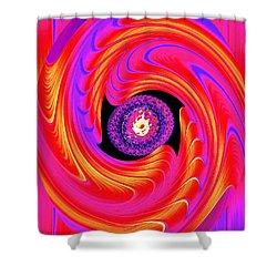 Luminous Energy 8 Shower Curtain by Will Borden