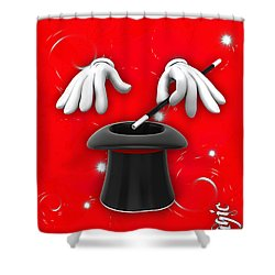 Magic Collection Shower Curtain by Marvin Blaine