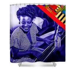 Mary Lou Williams Collection Shower Curtain by Marvin Blaine