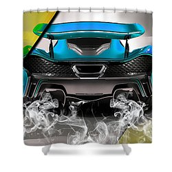 Mclaren P1 Collection Shower Curtain by Marvin Blaine