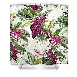 Nicaragua Shower Curtain by Jacqueline Colley