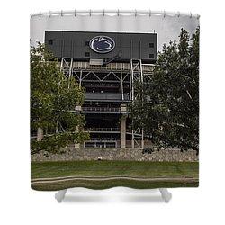 Penn State Beaver Stadium  Shower Curtain by John McGraw