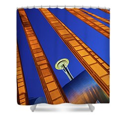 Reach For The Sky Shower Curtain by Inge Johnsson
