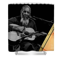 Richie Havens Collection Shower Curtain by Marvin Blaine