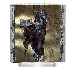 Saint Luke Shower Curtain by Granger