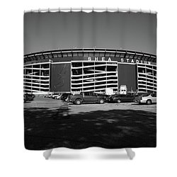 Shea Stadium - New York Mets Shower Curtain by Frank Romeo