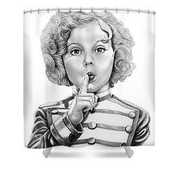 Shirley Temple Shower Curtain by Murphy Elliott