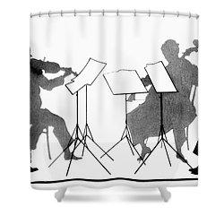 String Quartet, C1935 Shower Curtain by Granger