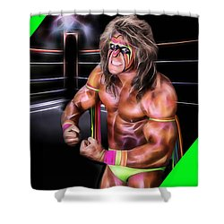 The Ultimate Warrior Collection Shower Curtain by Marvin Blaine