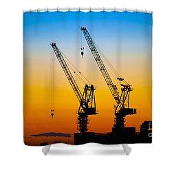 Tokyo Shower Curtain by Bill Brennan - Printscapes