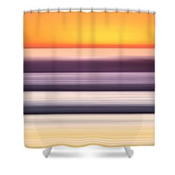 Venice Steps  -  2 Of 3 Shower Curtain by Sean Davey