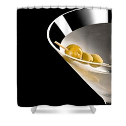 Vodka Martini Shower Curtain by Ulrich Schade