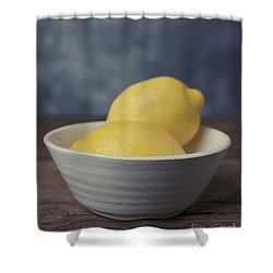 When Life Gives You Lemons Shower Curtain by Edward Fielding