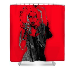 Lady Gaga Collection Shower Curtain by Marvin Blaine