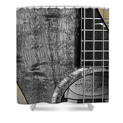 Acoustic Guitar Collection Shower Curtain by Marvin Blaine