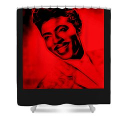 Little Richard Collection Shower Curtain by Marvin Blaine