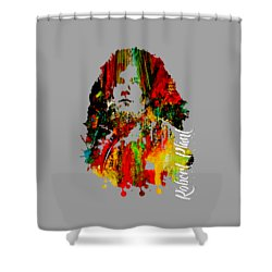 Robert Plant Collection Shower Curtain by Marvin Blaine