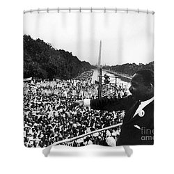 Martin Luther King, Jr Shower Curtain by Granger