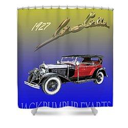 1927 Lasalle Shower Curtain by Jack Pumphrey