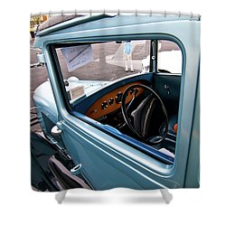 1929 Ford 2056 Shower Curtain by Guy Whiteley