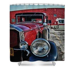 1931 Pierce Arow 3473 Shower Curtain by Guy Whiteley