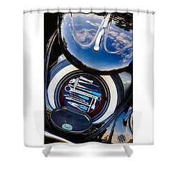 1949 Volkswagen Tool Kit Shower Curtain by Jill Reger