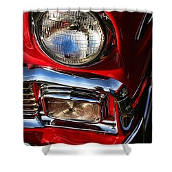 1956 Chevrolet Bel Air Shower Curtain by Gordon Dean II