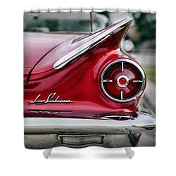 1960 Buick Lesabre Shower Curtain by Gordon Dean II
