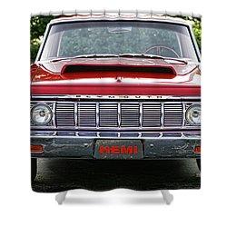 1964 Plymouth Savoy Hemi  Shower Curtain by Gordon Dean II