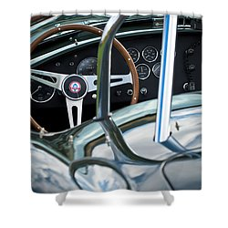 1966 Shelby 427 Cobra Shower Curtain by Jill Reger