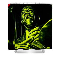 Art Blakey Collection Shower Curtain by Marvin Blaine