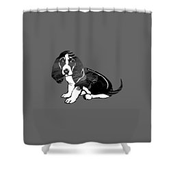 Beagle Collection Shower Curtain by Marvin Blaine