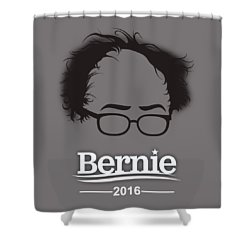 Bernie Sanders Shower Curtain by Marvin Blaine