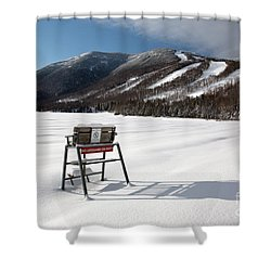 Cannon Mountain - White Mountains New Hampshire Usa Shower Curtain by Erin Paul Donovan