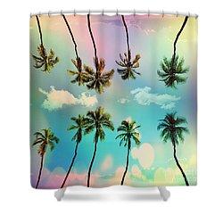 Florida Shower Curtain by Mark Ashkenazi