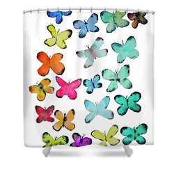 For A Friend Shower Curtain by Roleen Senic