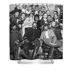 Francisco Pancho Villa Shower Curtain by Granger