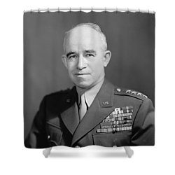 General Omar Bradley  Shower Curtain by War Is Hell Store