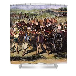 India: Sepoy Mutiny, 1857 Shower Curtain by Granger