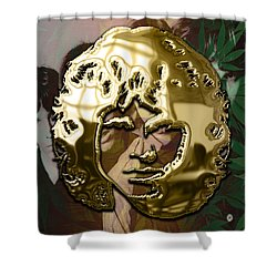 Jim Morrison The Doors Collection Shower Curtain by Marvin Blaine
