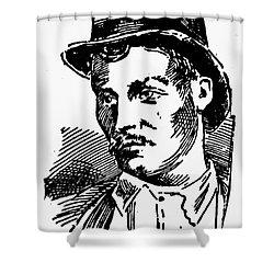 Mafia, 1891 Shower Curtain by Granger