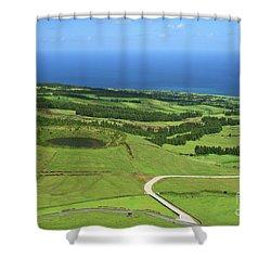 Sao Miguel - Azores Shower Curtain by Gaspar Avila