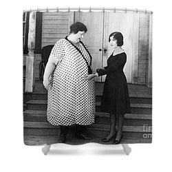Silent Still: Weight Shower Curtain by Granger