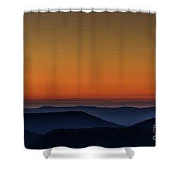 Summer Solstice Sunrise Shower Curtain by Thomas R Fletcher